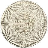 Zeller Zestaw podkładek, PCW, złoty, 41 cm