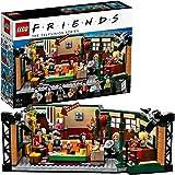 Lego Friends 21319 Central Perk Byggset med Ikoniskt Cafe och 7 Minifigurer