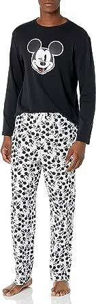 Amazon Essentials Men's Disney Star Wars Marvel Flannel Pajamas Sleep Sets