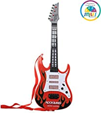 Smiles Creation Rock and Roll Guitar Toy for Kids