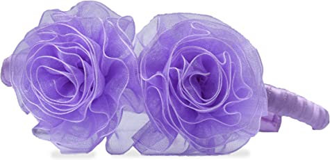 Princess Purple Pom-Pom Hairband by Aarushi Creations(Purple)