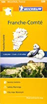 Franche-Comte - Michelin Regional Map 520