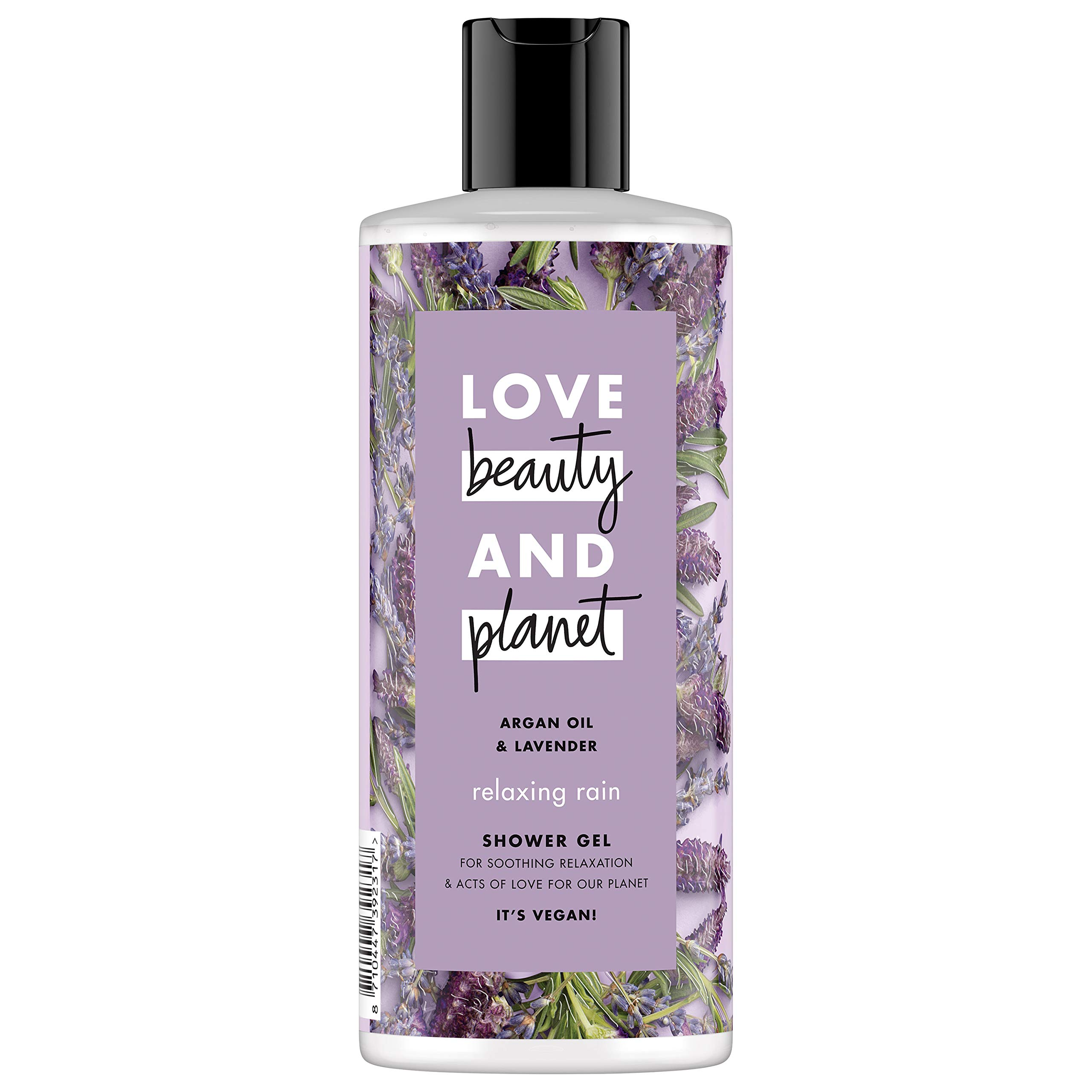Love Beauty and Planet Argan Oil and Lavender Shower Gel Relaxing Rain 500 ml