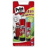 Pritt Barra Adhesiva, pegamento infantil seguro para niños para hacer manualidades, cola universal de adhesión fuerte para es