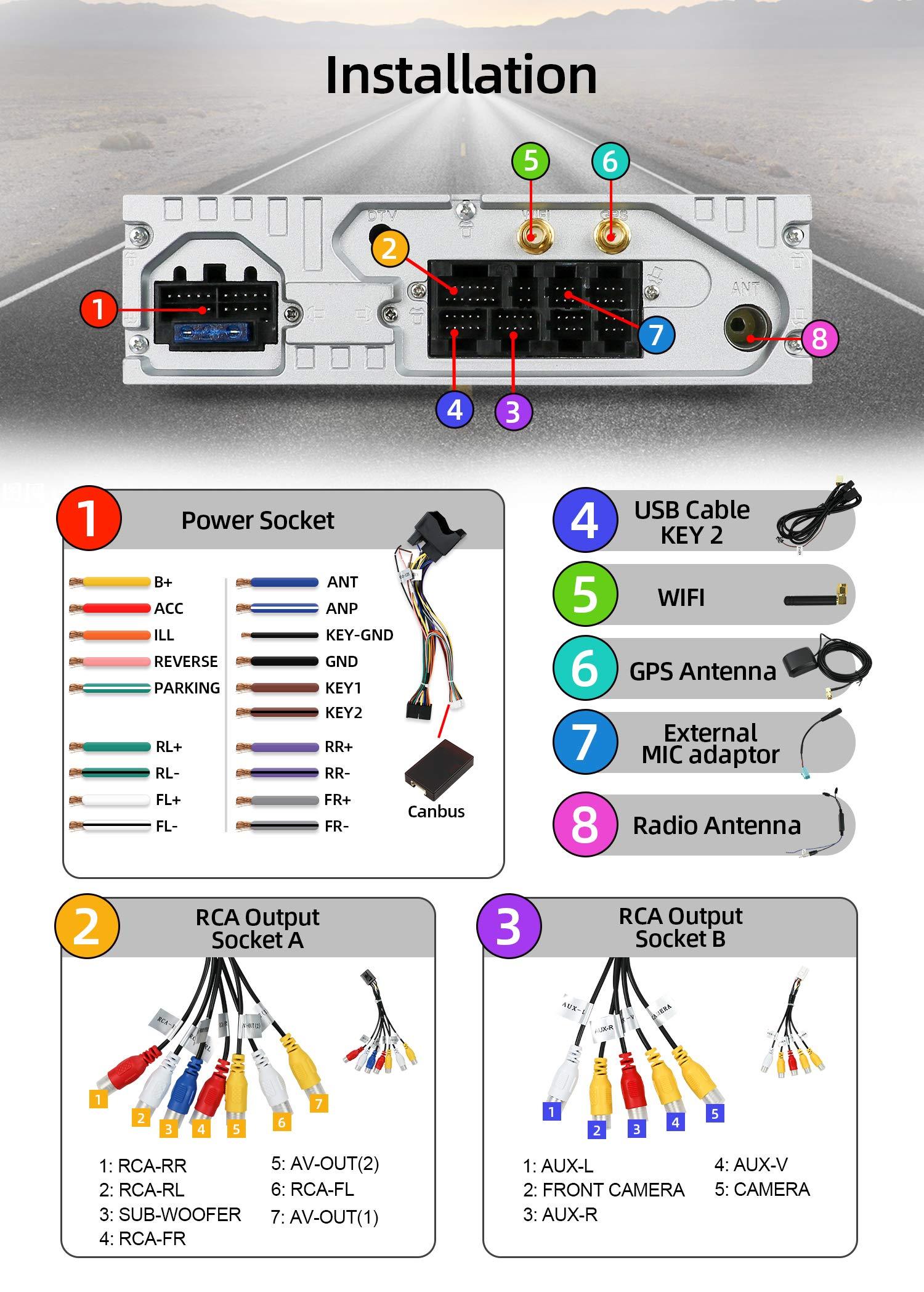 Android-90-Doppel-Din-Autoradio-fr-BMW-E90E91E92E93-2005-2012-GPS-Navigation-inkl-Rckkamera-und-Canbus-229-cm-Touchscreen-2-G-32-G-untersttzt-DABWiFiBluetoothUSBSDSpiegel-Link