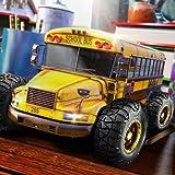 High School Monster Speed Bus Stunts 3D: Metro Extremes Springen Mad Max Road Abenteuer Simulator Spiel