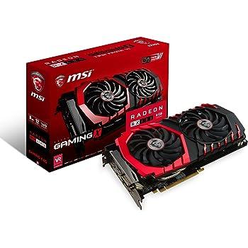 MSI Radeon RX 480 GAMING X 8G Radeon RX 480 8GB GDDR5 - graphics cards (AMD, Radeon RX 480, 1316 MHz, 2-Way CrossFireX, 8 GB, GDDR5)