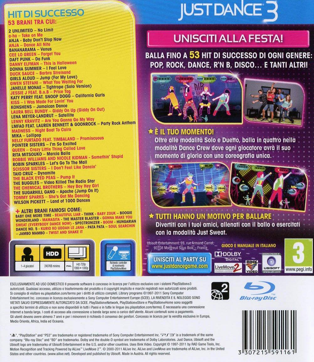 just dance 3 microsoft xbox 360 amazonit videogiochi - Just Dance 3 Halloween