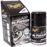 Meguiar's G181320EU Whole Car Air Re-Fresher Odor Eliminator Mist Black Chrome Scent Air Bomb 59ml