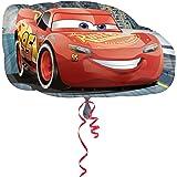 amscan 10022931 34048 Cars 3 Lightning McQueen - Globo (1 unidad)