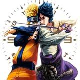Naruto Sasuke Android Clock Widget