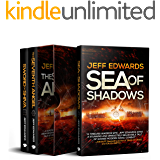 Jeff Edwards Military Thriller 3-Book Box Set (USS Towers Series): Sea of Shadows; The Seventh Angel; Sword of Shiva