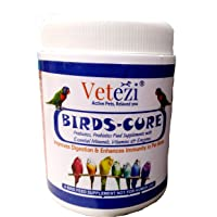 Vetezi Birds-Cure by 'Tom and Birdy' | Food Supplement for Pet Birds | Prebiotics, Probiotics, Enzymes, Vitamins for…