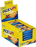 Leibniz PiCK UP! Choco 24 x 28 g-knackige Schokolade, knuspriger Keks-für unterwegs-lecker für zwischendurch-Riegel-Schokoriegel zum snacken-einzeln verpackt-Großpackung-für die ganze Familie-lecker