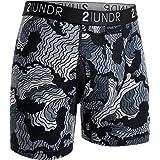 "2UNDR Mens Swing Shift 6"" Boxer Brief Underwear"