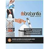 Brabantia 348969 Distributeur de Sacs Poubelles Poignées Coulissantes 5 L Blanc 60 Sacs