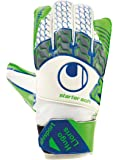 UHLSPORT - TENSIONGREEN LLORIS STARTER SOFT - Gant gardien football - Latex Starter Soft - Coupe Classique - blanc/vert fluo/bleu marine