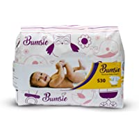 Bumsie Tape Style Baby Diapers (Small) - Pack of 30