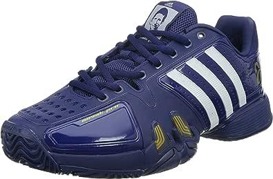adidas – Novak Pro Herren Tennis Schuhe (blauweiß) – EU 41