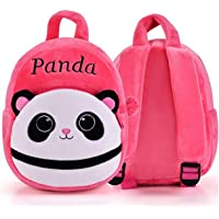 Frantic Velvet Kids School/Nursery/Picnic/Carry/Travelling Bag - 2 to 5 Age (Best Pink_Panda)