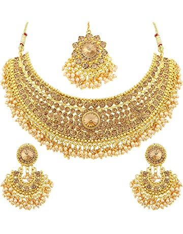 16508b7c862 Necklace Set: Buy Necklace Set online at best prices in India ...
