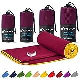 Fit-Flip Mikrofaser Handtuch Set – 16 Farben, viele Größen – Ultra leicht, kompakt, & schnelltrocknend – Microfaser Handtüche