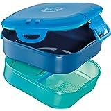 Maped Picnik Concepts Boîte à repas 3 en 1 Bleu 870703