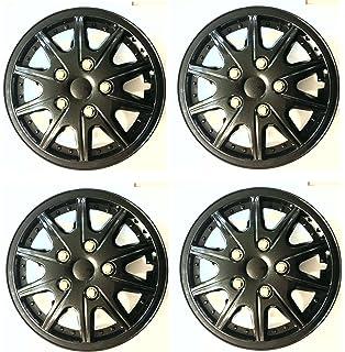 Wing Mirrors World KIA VENGA 15 Tempest Car Wheel Trims Hub Caps Plastic Covers Silver