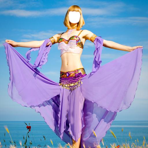 Oriental Bauchtanz-Montage (Teenager Kostüme Tanz)