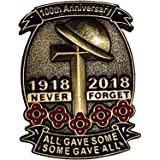 Oro 1918–2018Limited Edition 100TH Anniversary Cross pin badge