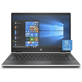 "HP Pavilion x360 14-cd0022nl Notebook, Intel Pentium Gold 4415U, 8 GB di RAM, 128 GB SSD, Display Touch WLED 14"", 1366 X 768, Argento Naturale"