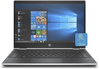 "HP Pavilion x360 14-cd0022nl Notebook, Intel Pentium Gold 4415U, 8 GB di RAM, 128 GB SSD, Display Touch WLED 14"", 1366 X 768, Argento Naturale"