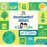 Zayn and Zoey Environment Friendly Series - Set of 3 Books (Reduce Reuse Recycle, Rainwater Harvesting, Solar Power) - Educat