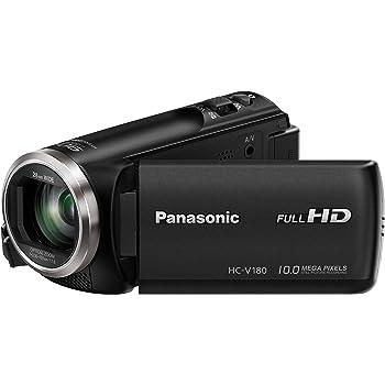 Panasonic HC-V180 Camescopes Classique 1080 Pixels Zoom Optique 50 x 2.51 Mpix