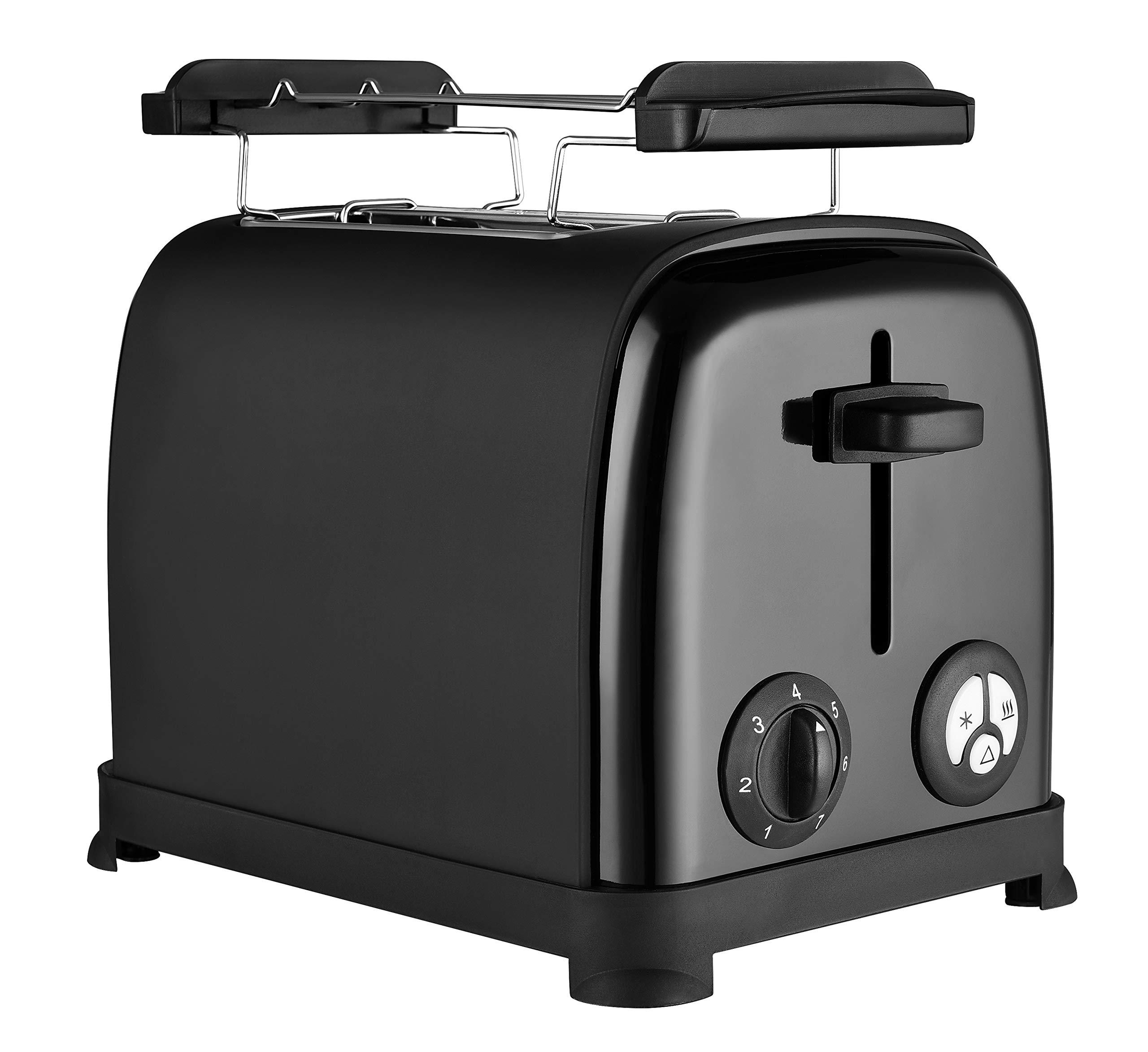 Venga-VG-to-3004-Toaster-950-Edelstahl-Kunststoff-Schwarz
