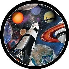 Weltraum Party 8 Teller Ø 17,7 cm