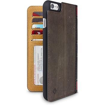 Twelve South BookBook Étui en Cuir   Livre Ancien pour iPhone 6 6s Plus  Marron a8e15370f331