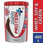 Horlicks Protein+ Health and Nutrition Drink - 400 g Pet Jar (Chocolate)