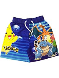 7d68582c4e Licensed Boys Pokemon Swimming Shorts Ages 3 to 10 Years