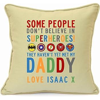 Personalised Beard Cushion Fathers Day Birthday Gift Dad Daddy Father Grandad Mobel Wohnen
