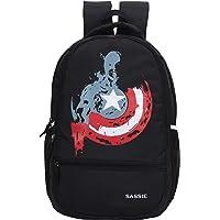 SASSIE 31 Ltrs 11 cm Backpack (S-1091_Black)