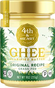 4th & Heart - Original de beurre de ghee - 9 once.