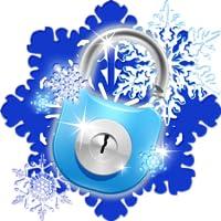 Tema Smart App Lock Snowflakes