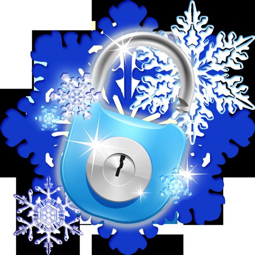 Smart App Schloss Schneeflocken Thema