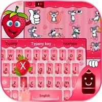 Strawberry Theme&Emoji Keyboard