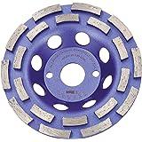 BTEC Twin Speed Diamantslijppan 125x22,23 mm diamantpotslijper slijpschijf potslijper beton natuursteen dekvloer metselwerk u