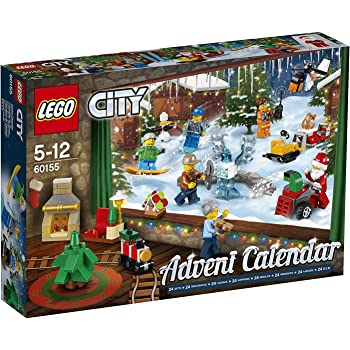 LEGO - 60155 - LEGO City - Jeu de Construction - Le Calendrier de l'Avent LEGO City