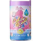 Barbie Color Reveal Bambola Chelsea Serie Glitter con 6 Sorprese, Assortimento Casuale, Giocattolo per Bambini 3+Anni,GTT23