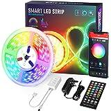 Wifi Tiras LED, Luces LED RGB 6m con Control Remoto y Caja de Control, Alexa Google Home Sync con 4 modos de música y 8 Modos