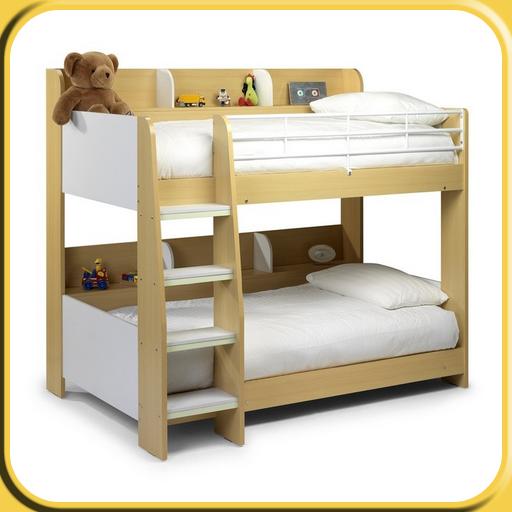 Kids Bunk Bed Master - Full Loft Twin